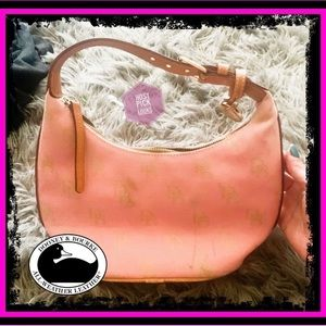 Authentic Vintage Dooney & Bourke Pink Handbag